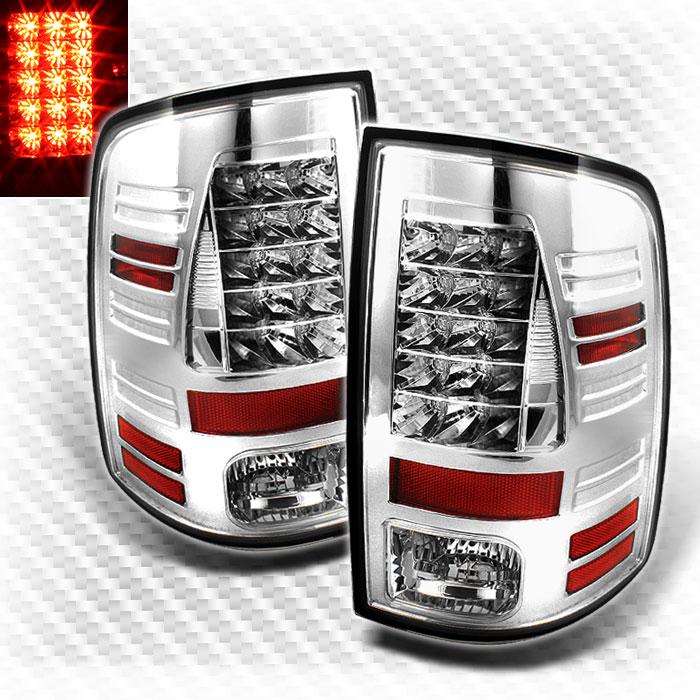 Xtune 2010-2017 Ram 1500//2500//3500 2009 1500 Black LED 3rd Brake Light w//LED Cargo /& Reverse 2011 2012 2013 2014 2015