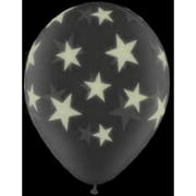 """11"""" Latex Glow-in-the-Dark Star Balloons, 25-Pack"""