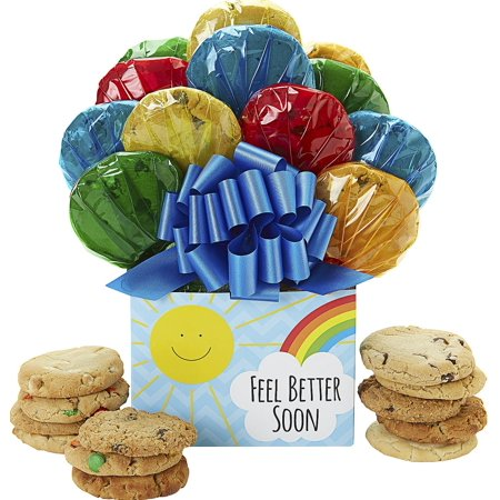 Sunshine Get Well Cookie Bouquet