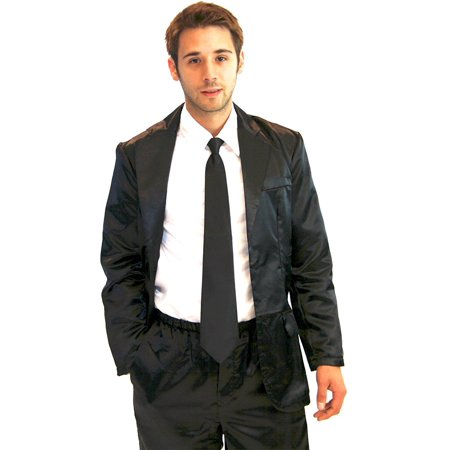 How I Met Your Mother 4 Piece Silk Suit Mens Pajama](Naked Men In Suits)