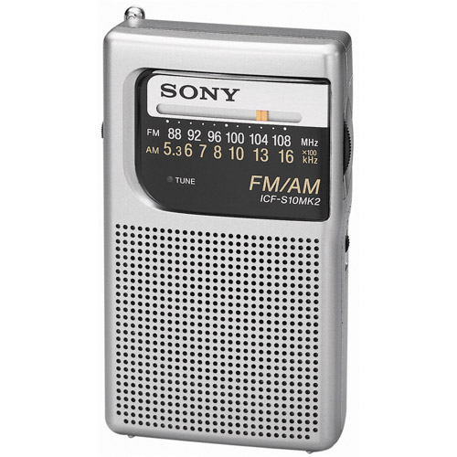 Sony POCKET RADIO YICFS10MK2