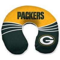 Green Bay Packers Wave Memory Foam U-Neck Travel Pillow - Green - No Size