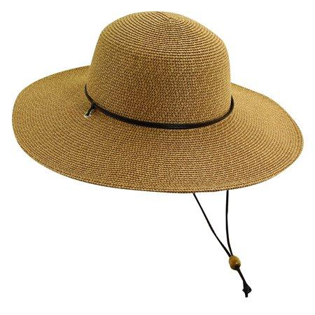 Scala Collezione - Scala Collezione Women s Big Brim Sun Hat Brown OS -  Walmart.com a26d294796a2
