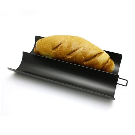 Nonstick French Bread Baguette Pan 16 X 8 Inch Walmart Com