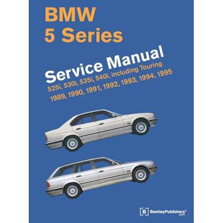 Bmw 5 Series Service Manual  1989 1995