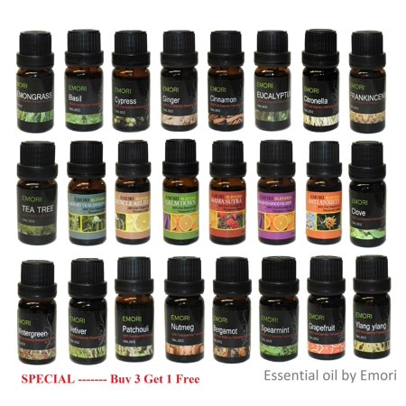 100% Pure Essential Oil Therapeutic Grade 10 ml by