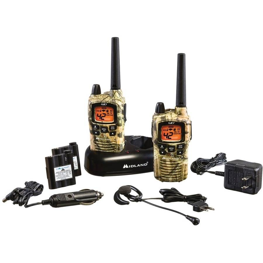 Midland GMRS 2-Way Radio with 42 Channels, Camouflage