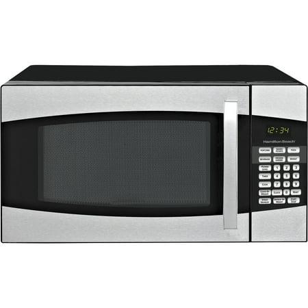 Hamilton Beach 0 9 Cu Ft Microwave Oven Black