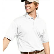 00820599180668 MENS PERFORMANCE GOLF SHIRT 2800 WHITE 4XL