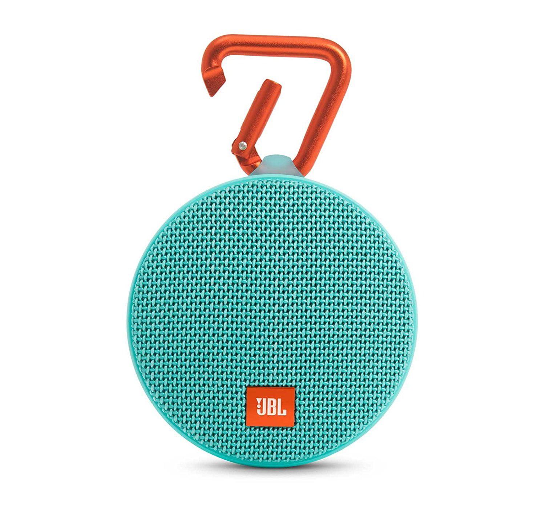 JBL Clip2 Waterproof Bluetooth Wireless Speaker Red
