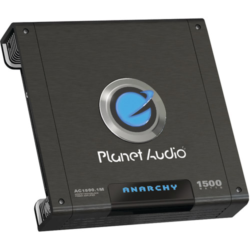 Planet Audio AC1500.1M ANARCHY Class AB Monoblock Amp