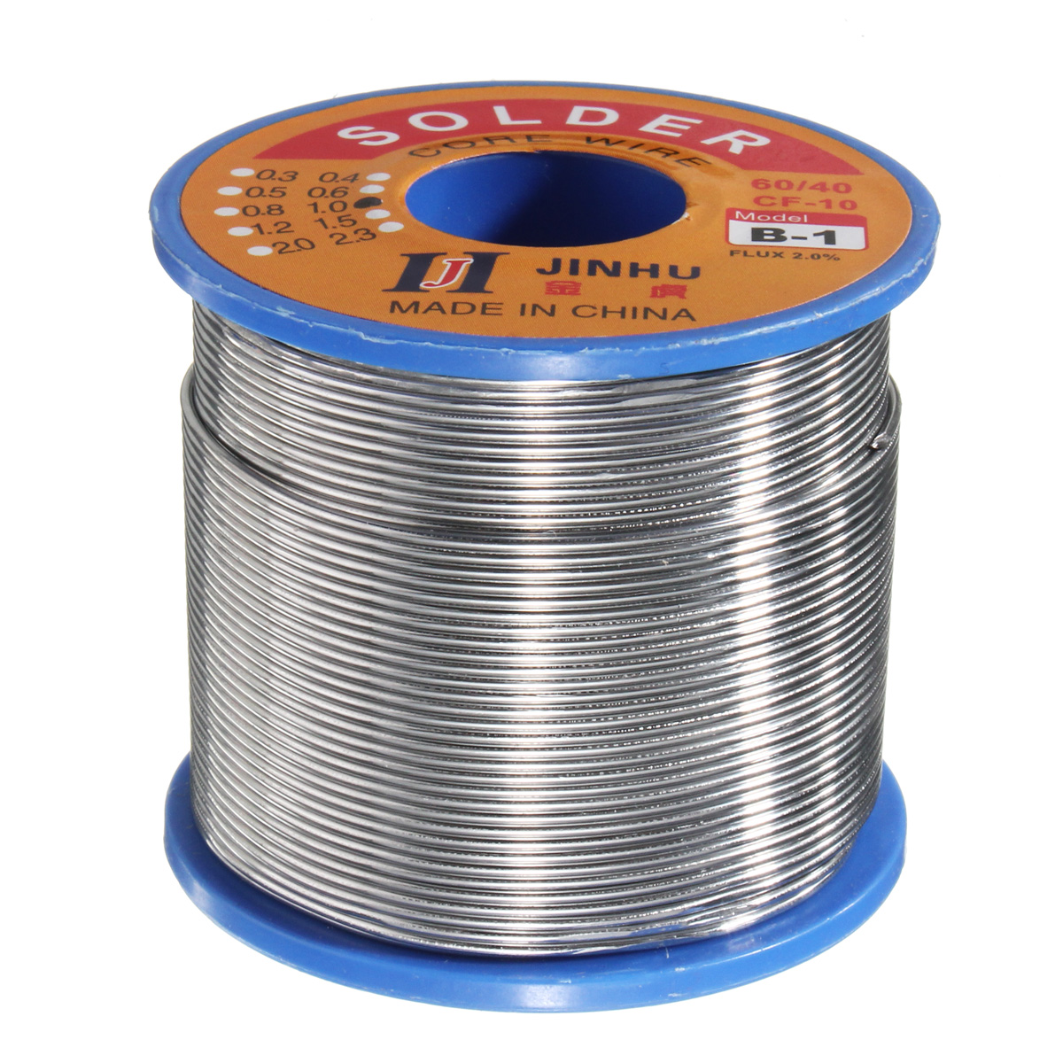 60/40 400g 1mm Rosin Core Solder Tin Lead 2% Flux Soldering Welding Iron Wire for Circuit Board Electronics Devices