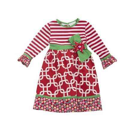 Rare Editions Girls Christmas Dress  14 ()