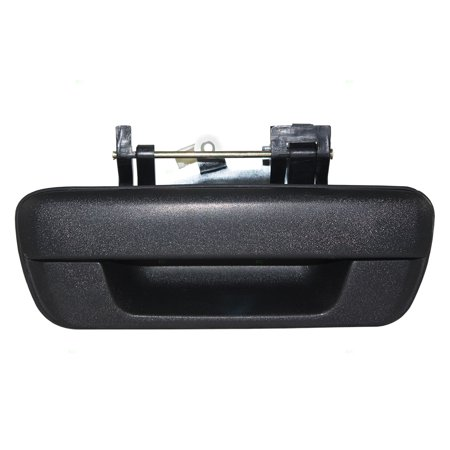 BROCK Tailgate Liftgate Textured Handle Rear Replacement for 06-08 Isuzu Pickup Truck 04-12 Chevrolet Colorado GMC Canyon 97319415 GM1915127