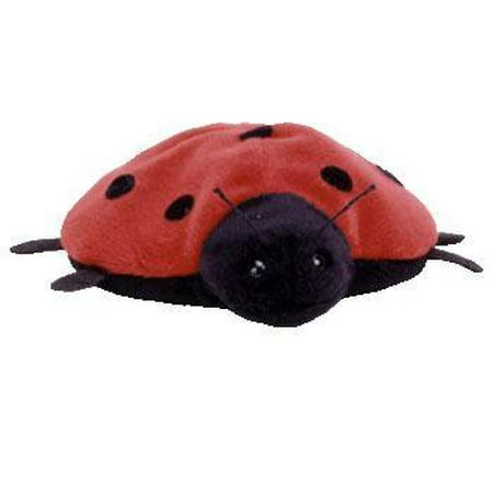 Beanie Babies Lucky the Ladybug Beanie Baby Plush [7 Spots] (Stuffed Animals Lady Bug)