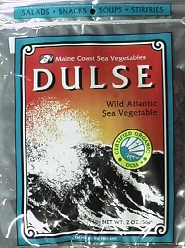 Maine Coast Sea Vegetables Dulse, Wild Atlantic Sea Vegetable, 2 Ounce Package by Maine Coast
