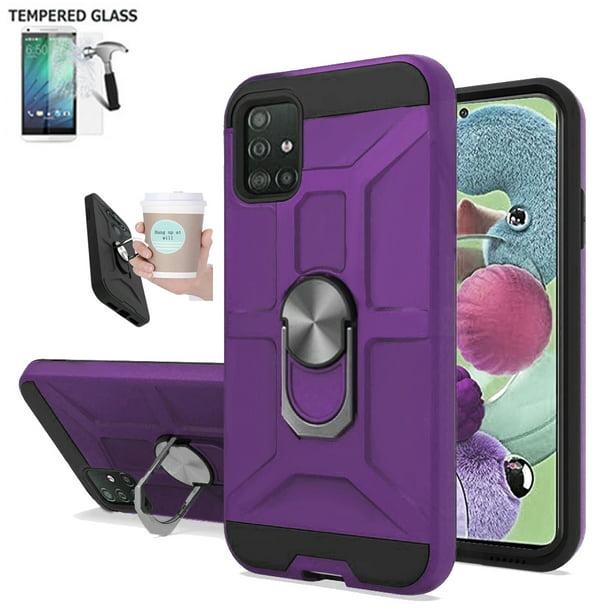 Phone Case For Samsung A51 4G \/ A51 Screen Protector \/ A51-4g Case \/ A515F Case \/ Shock