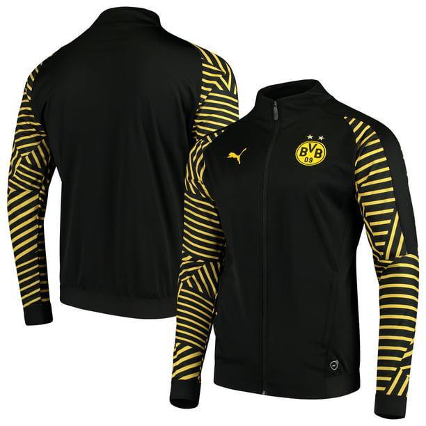 Puma Borussia Dortmund Puma 2018 19 Stadium Drycell Full Zip Jacket Black Walmart Com Walmart Com