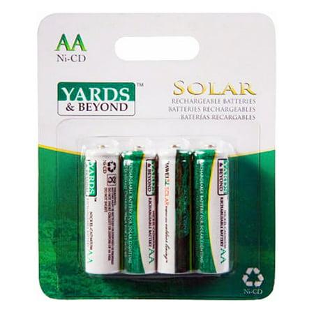 4Pk Solar Aa Battery