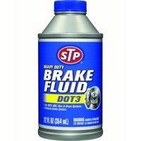 STP Heavy Duty Brake Fluid - DOT3, 12 oz.