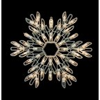 15 cool white led lighted snowflake christmas window for 16 lighted snowflake christmas window silhouette decoration