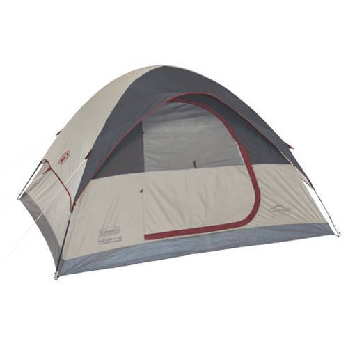 Coleman 6-Person Traditional C&ing Tent  sc 1 st  Walmart : coleman tent replacement parts - memphite.com