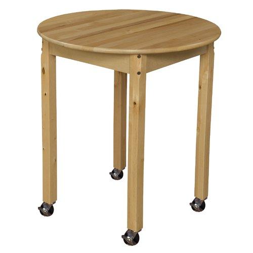Wood Designs Circular Activity Table