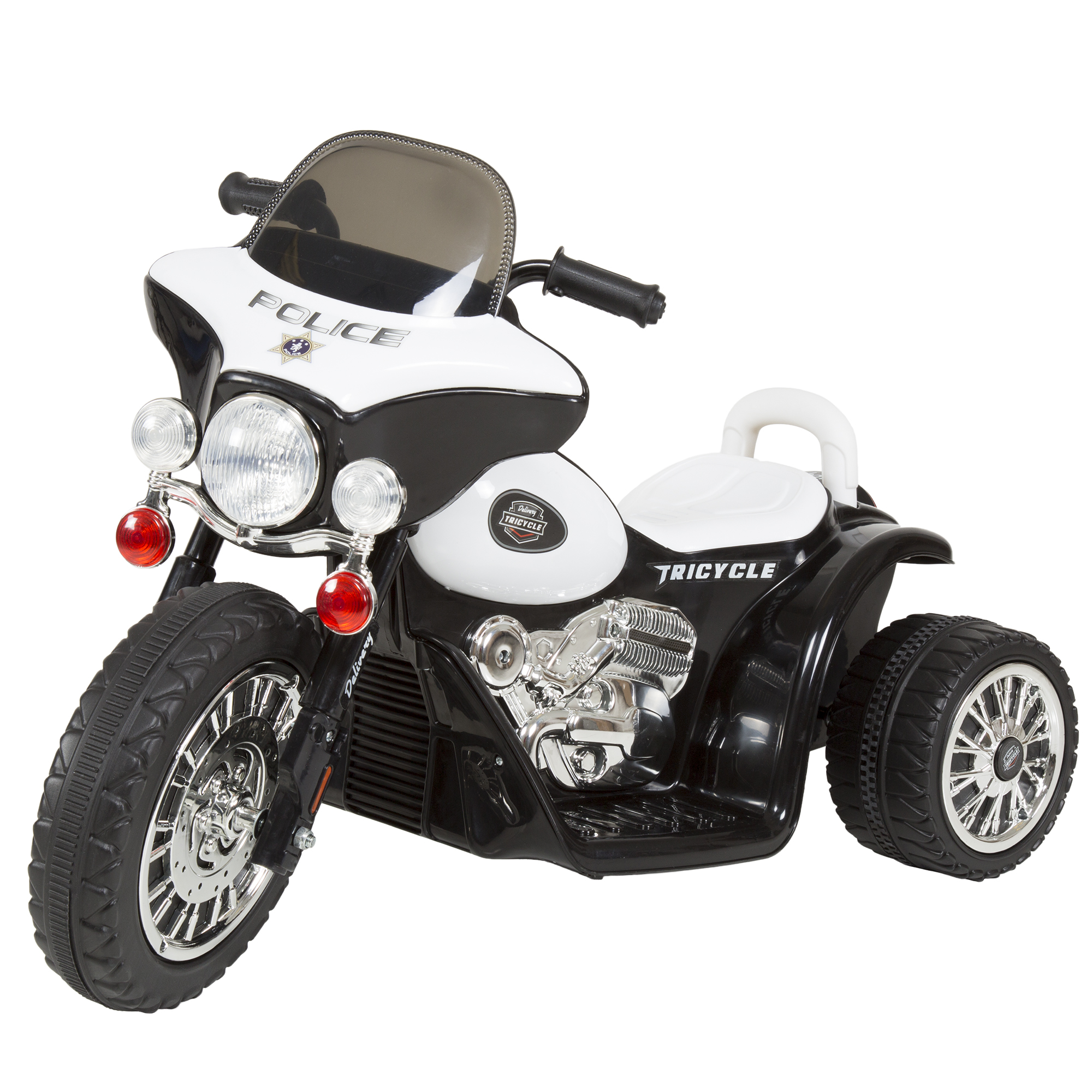 Mini Motorcycle For Kids >> Ride On Toy 3 Wheel Mini Motorcycle Trike For Kids Battery Powered