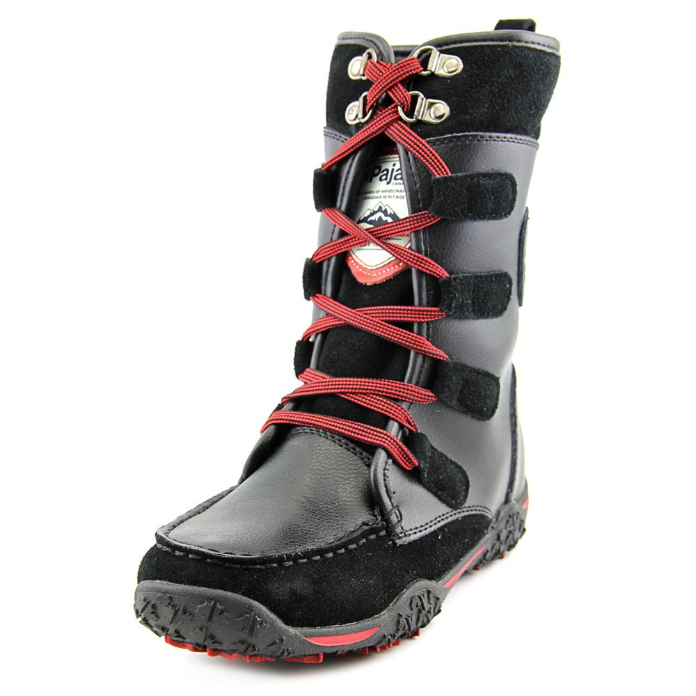 Click here to buy Pajar Gaetana Round Toe Leather Snow Boot by Pajar.