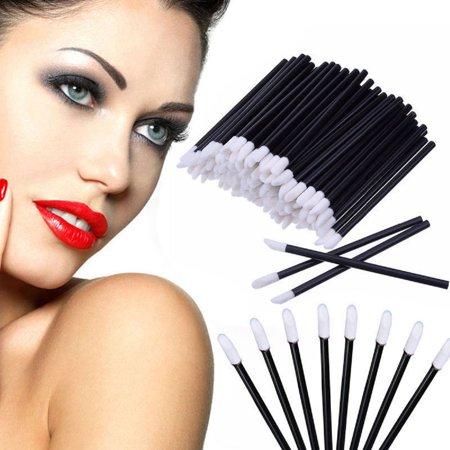 50-200pcs Disposable Lip Brush Gloss Wands Applicator Makeup Cosmetic Tool Beauty