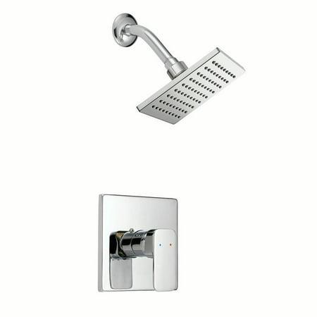 Design House 547711 Karsen Shower Trim with Valve, Polished Chrome