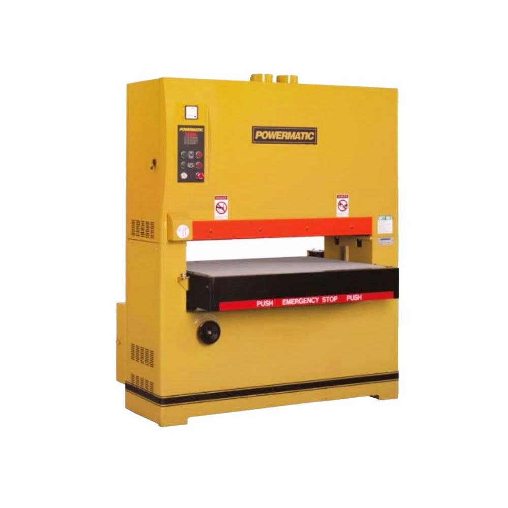 powermatic 1790843 43 quot wide belt sander 25hp 3ph 230 460v