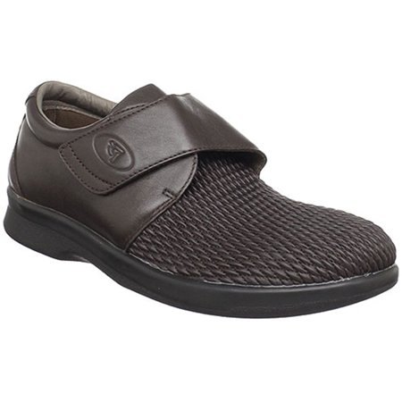 Men's Propet OLIVER Slip On Sneakers BROWN 12 D