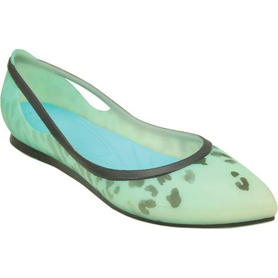 8e2b98f9e38d Crocs - Crocs Women's Rio Leopard Fade Flat - Walmart.com