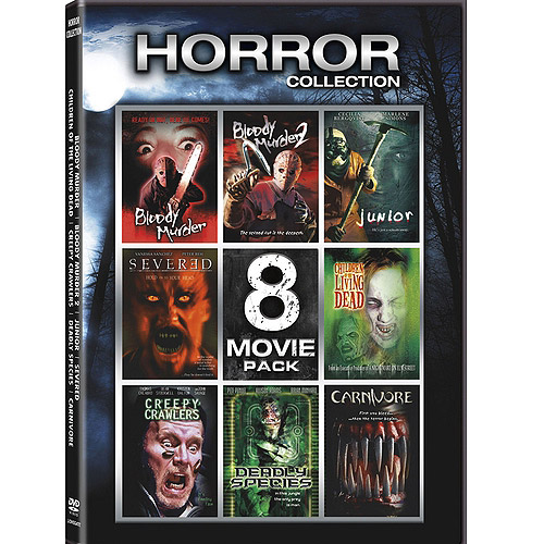 Horror Collection: 8-Movie Pack - Bloody Murder / Bloody Murder 2 / Junior / Severed / Children Of The Living Dead / Creepy Crawlers / Deadly Species / Carnivore (Widescreen)