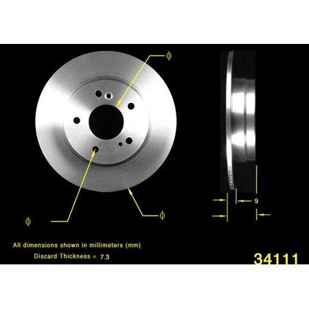 BENDIX PREMIUM PRT5459 - Disc Brake - Bendix Titaniumetallic2 Disc