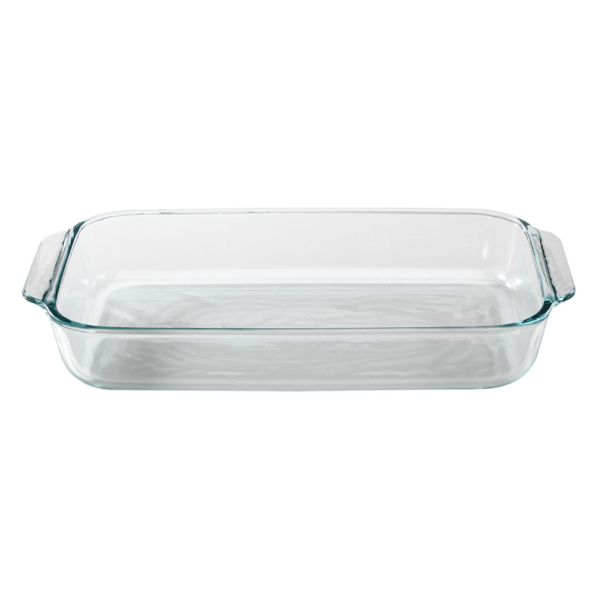 Pyrex Basics Glass Bakeware 3-Quart Baking Dish