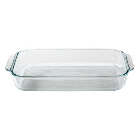 Pyrex Basics 3 Quart Glass Bakeware Dish