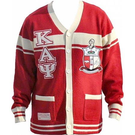 - Big Boy Kappa Alpha Psi Divine 9 S6 Mens Sweater [Crimson Red - XL]