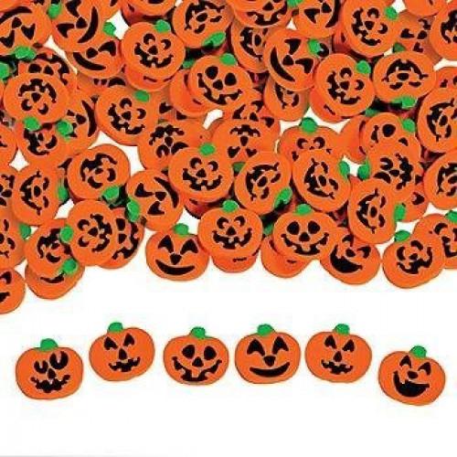 "144 ~ Halloween Pumpkin Jack-o-lantern Mini Erasers ~ Approx. 3 4"" ~ New by FX"