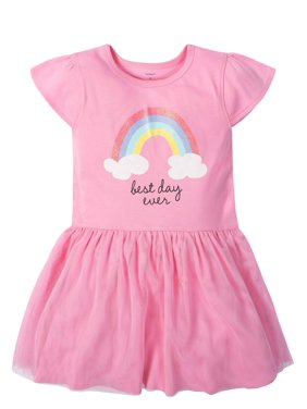 eb4a1f5126b Product Image Cap Sleeve Tulle Dress (Toddler Girls)