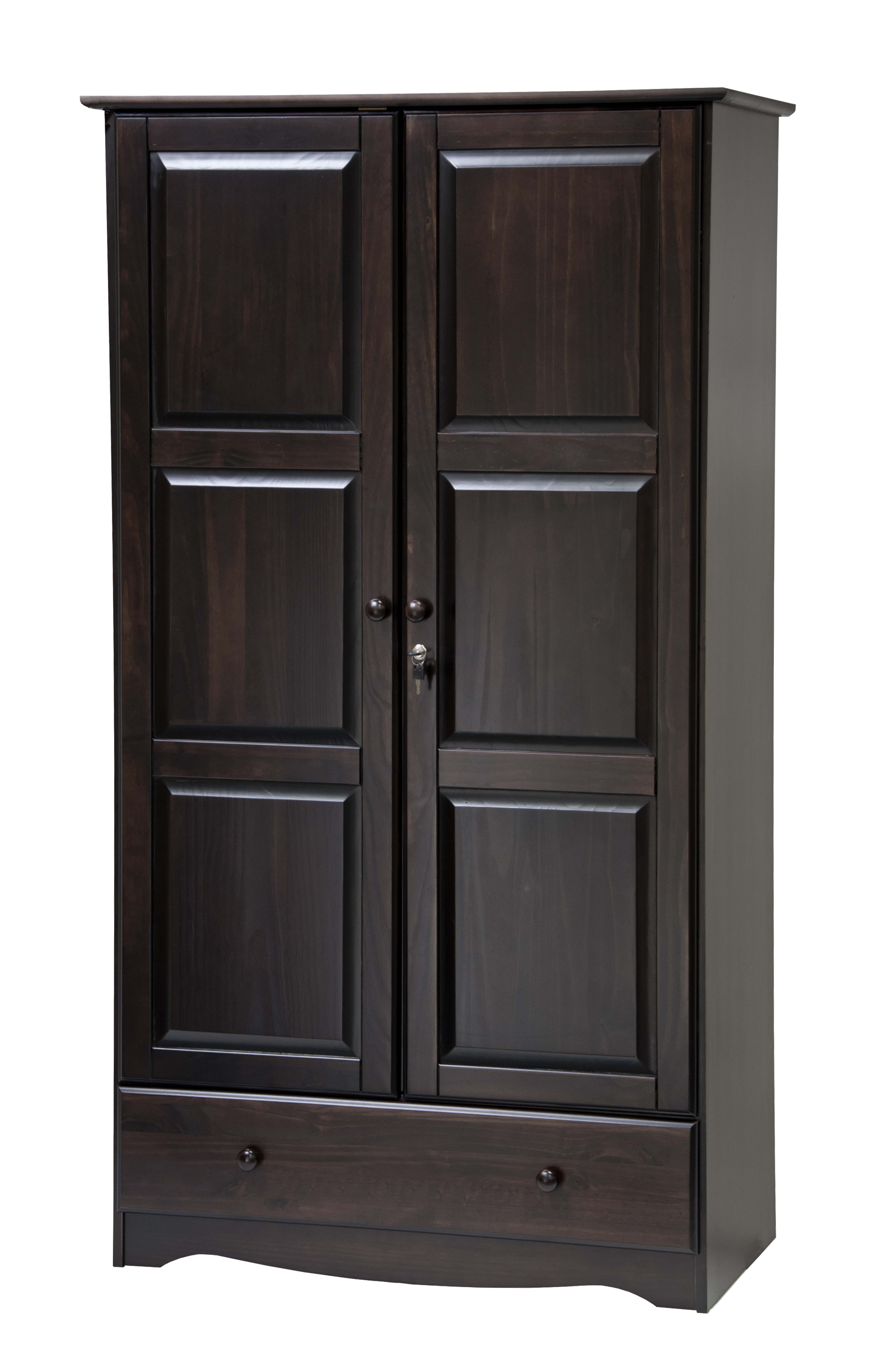 Palace Imports, 5622, Universal Wardrobe/Closet/Armoire With 1 Drawer, 2