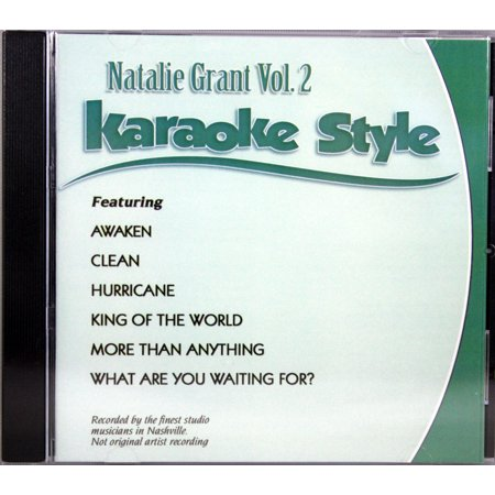 Natalie Grant Volume 2 Christian Karaoke Style NEW CD+G Daywind 6 Songs