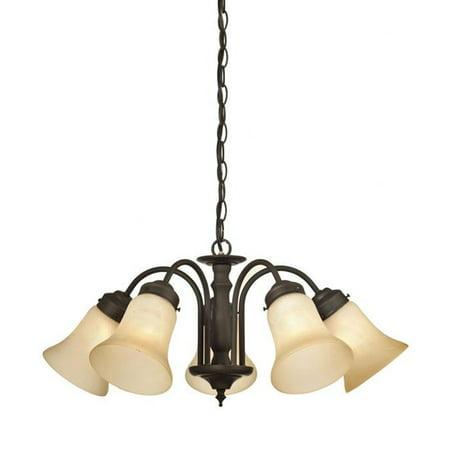 Westinghouse Lighting Trinity Ii 5 Light Shaded Chandelier