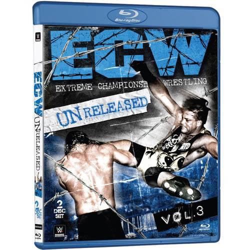 WWE: ECW Unreleased, Vol.3 (Blu-ray) WWEBR542864