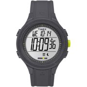 Men's Ironman Essential 30 Black/Lime Watch, Silicone Strap