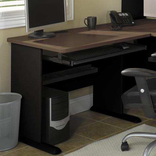 Bush Series A 60-in. Corner Desk - Sienna Walnut