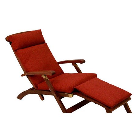 Blazing needles soft home furnishings outdoor chaise for Blazing needles chaise cushion