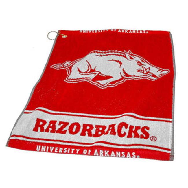 Team Golf 20480 University of Arkansas Woven Golf Towel