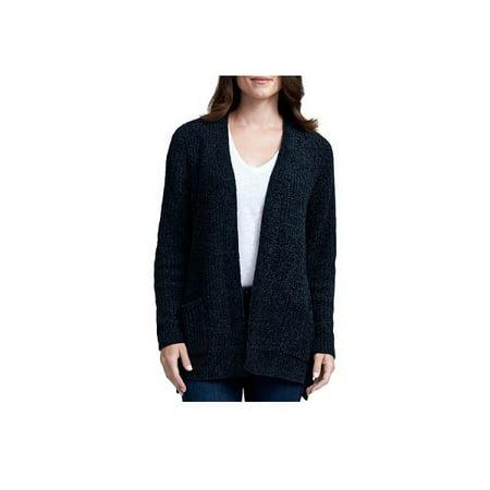 Seven7 - Seven7 Women s Size Medium Soft   Warm Chenille Cardigan Sweater 4f46028be